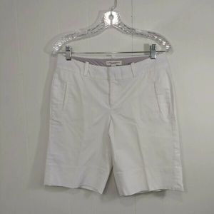 Banana Republic Size 6 Martin Fit White Walking